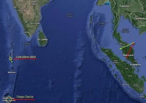Plane spotted over Kuda Huvadhoo, Maldives